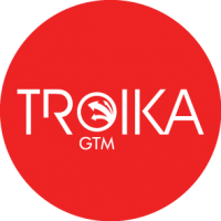 Troika GTM red circle logo